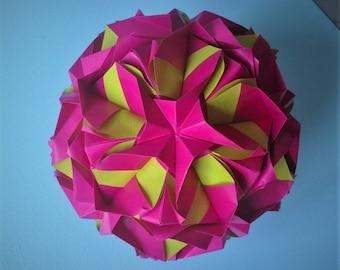 Royal rose Kusudama origami