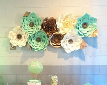 Paper Flower Backdrop-Customize your Order!!!!