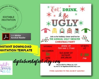 office party invitation templates