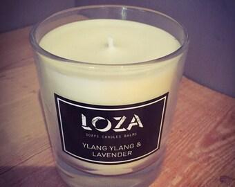 Ylang Ylang & Lavender Soy Wax Candle