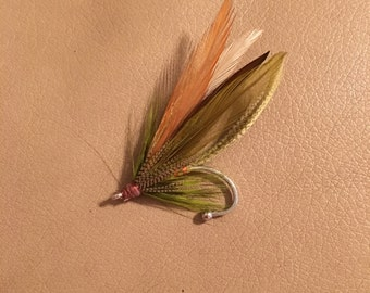 Men's Fly Fishing Boutonniere