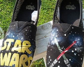 Star Wars handpainted shoes