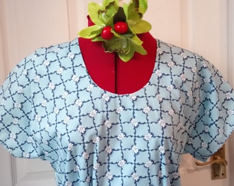 Hollywood top vintage 1940s pattern- REDUCED