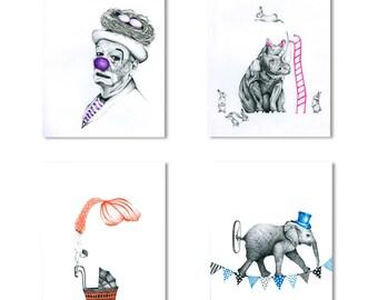 melancholy circuse series