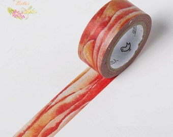 Orange Sunset Washi Tape