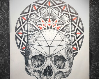 Islamic Pattern Skull