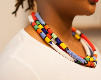 NDEBELE - ethnic Tribal necklace