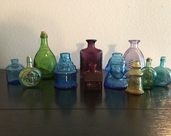 Vintage Collector Bottles