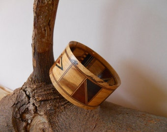 wooden bangle (various hardwoods)