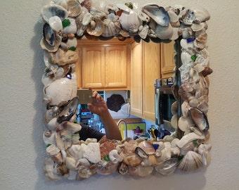 Beach Themed Mirror