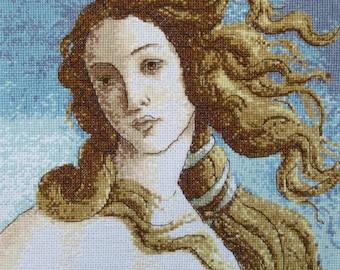 "A fragment of Botticelli's ""Birth of Venus"""