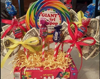 Money, Candy Gift Boxes