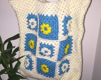 Crochet Shoulder / Crossbody Bag