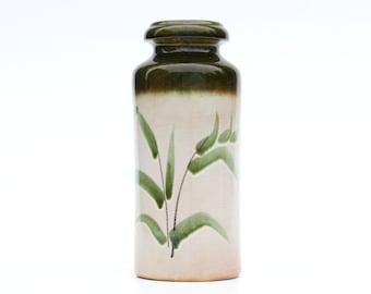75% off last chance-Vintage-Floral 517-30 vase Scheurich-Retro German ceramic