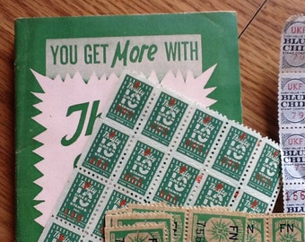 Blue Chip, Northern, & Thrifty Stamps