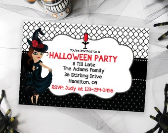 Halloween Party Invitation, Halloween Invites, Printable Invitations for Halloween