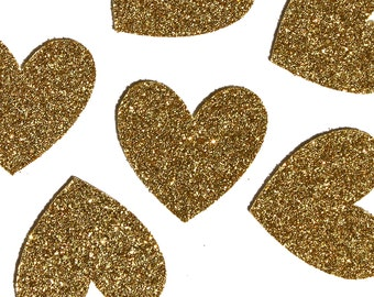 Heart Confetti   Gold Glitter Confetti   Bridal Shower Brunch   Baby Shower   Valentine's Day   Table Décor   Party Decorations