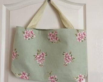 Sage floral Tote Bag