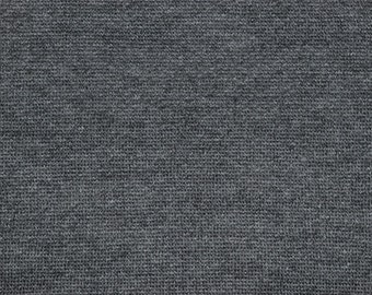 Poly Cotton Sweatshirt Fleece Fabric by the Yard -Charcoal (LT2)