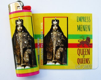 LiGHTSAVERZ Empress Menen Lighter Decal