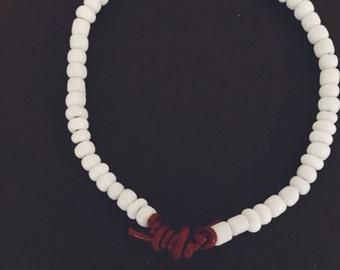 Shell Beaded Cord Bracelet