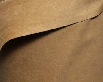 """Authentic Ultrasuede® Soft #351 Camel 45"""" Wide Fabric by the yard"""