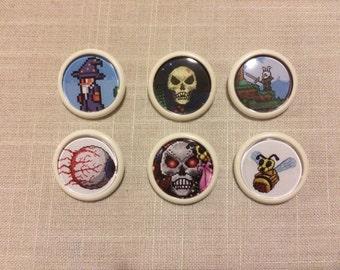 Set of 6 Terraria Badges