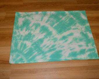 Tie dye bullseye pillow case