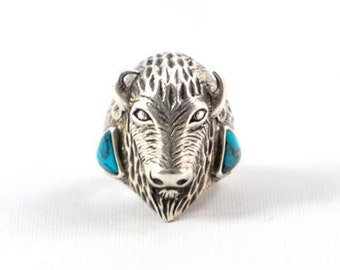 Unbreakable Bison Ring