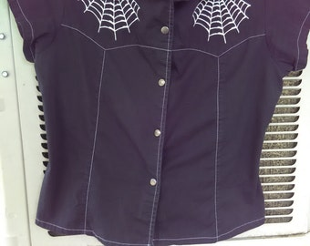 Serious Spiderweb Blouse