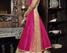 Bollywood Anarkali party wear bridal wedding lehenga suit