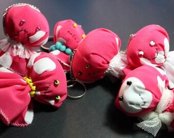 Kurara keychain (Jellyfish from Kurage hime)