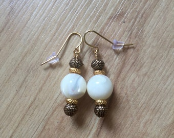 Golden Agate Earrings