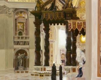 Where God Meets His Bride - Giclée Reproduction
