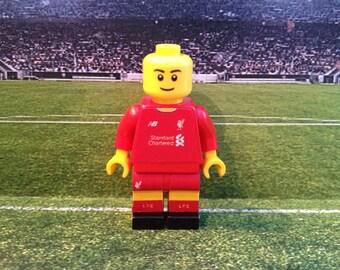 Lego Framed Custom Minifigure Liverpool
