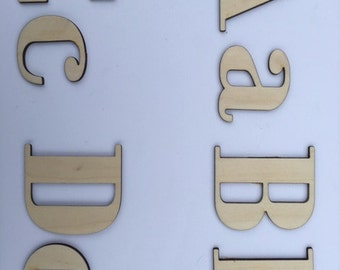 Metal Craft Letters Laser Cut Letters  Etsy