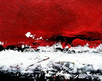 SPIRIT II - red black-white