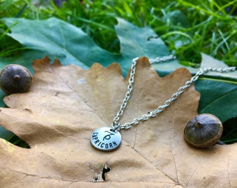Small Zodiac Necklace - Choose Your Sign