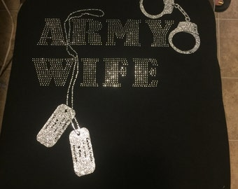Army Wife Camo Shirt