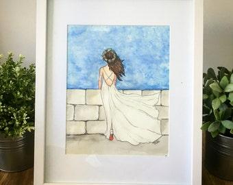 Handmade Fashion Watercolor Illustrations