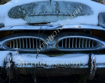 A Vintage Car/Antique Car Photo is a Original as Old Cars go.  Makes a unique One of a Kind  Car Buff Gift or Greeting Card/ Card for Him