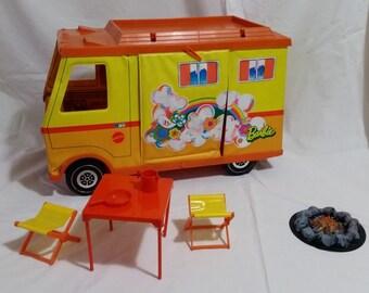 The caravan of Barbie-Vintage 1974