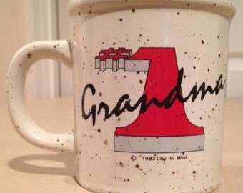 Number 1 Grandma Coffee Cup/Mug