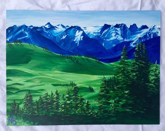 ROLLING HILLS PAINTING