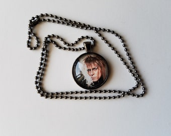 David Bowie as Jareth in Labyrinth Necklace
