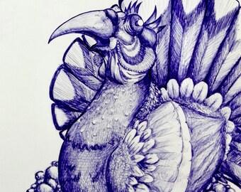 Birds of imagination (picture) serie 1/1 BIG