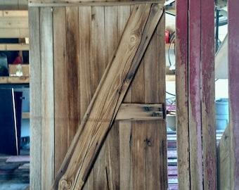 Barn door (with original hinges)