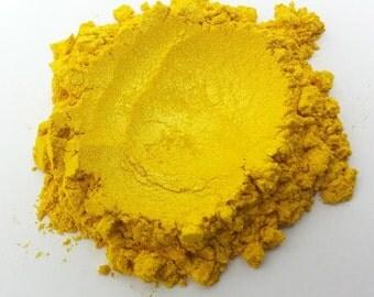 Pineapple Yellow - Pearl Mica Pigment Powder - Cosmetic Grade