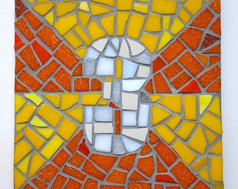 Wedding Gift, Housewarming Gift, Anniversary Gift, House Number, Christmas Gift, Custom, Mosaic, Sign, Plaque, Personalised