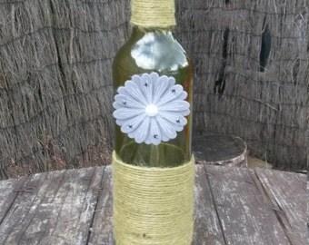 Decorative wine bottle